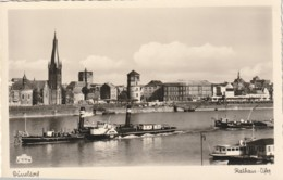 Ship Postcard Sea Boat Transport Dusseldorf Germany - Schiffe