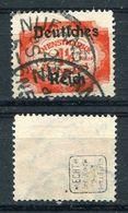 D. Reich Dienst Michel-Nr. 48 Gestempelt - Geprüft - Dienstzegels