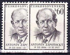 ** Tchécoslovaquie 1957 Mi 1048-9 (Yv 931-2), (MNH) - Unused Stamps