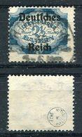 D. Reich Dienst Michel-Nr. 49 Vollstempel - Geprüft - Dienstzegels