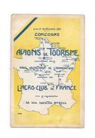 CPA Concours Des Avions De Tourisme, AERO CLUB DE FRANCE 7 Au 17 Septembre 1924 - Demonstraties