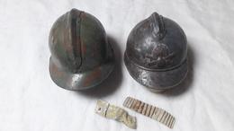 Lot De 2 Coques De Casque - Headpieces, Headdresses