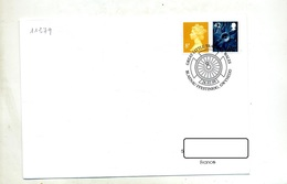 Lettre Cachet  Gwynedd  Roue - Machine Stamps (ATM)