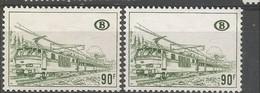 Sp 424 P1 & P2 Om Te Vergelijken  ** Postfris Zonder Scharnier - Railway