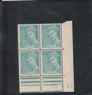 FRANCE Coins Datés Type Mercure  N° 538 ** - 1940-1949