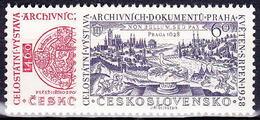 ** Tchécoslovaquie 1958 Mi 1073-4 (Yv 957-8), (MNH) - Unused Stamps