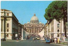 ROMA - Via Della Conciliazione - Piazza S. Pietro - San Pietro