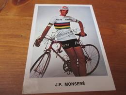 J P Monsere - Ciclismo