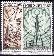 ** Tchécoslovaquie 1958 Mi 1083-4 (Yv 967-8), (MNH) - Unused Stamps