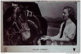 VINSON HELEN-véritable- Photo ACTRICE-Studio-1950 - Famous People