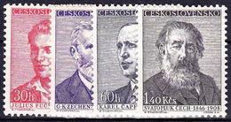 ** Tchécoslovaquie 1958 Mi 1093-6 (Yv 976-9), (MNH) - Unused Stamps
