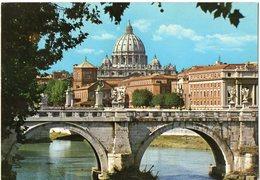 ROMA - Basilica Di S. Pietro Dal Lungotevere - San Pietro