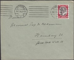 Germany - HAMBURG 28.2.1935. MiNr. 542 EF Brief / Cover. - Lettres & Documents