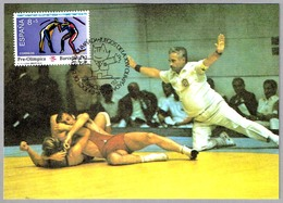 Juegos Olimpicos Barcelona'92 - LUCHA - Wrestling. Barcelona 1990 - Lutte