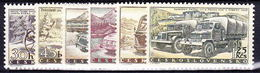** Tchécoslovaquie 1958 Mi 1109-14 (Yv 994-9), (MNH) - Unused Stamps