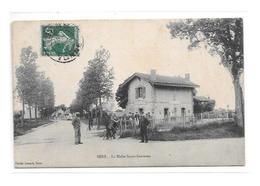 89 - SENS : La Halte Saint-Savinien,thème Chemin De Fer, Gare, - Sens