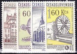 ** Tchécoslovaquie 1959 Mi 1133-6 (Yv 1018-21), (MNH) - Unused Stamps