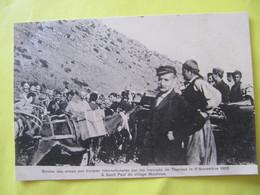 Remise Des Armes Aux Troupes Internationales Par Les Insurgés De Therisso Le 6 Novembre 1905 à Saint Paul Du Villa   TBE - Greece