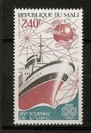 Mali 1983 N° 481 ** UPU, Union Postale Universelle, Communication, Etrave, Bateau, Paquebot, Indien, Logo, Carte, Routes - Mali (1959-...)