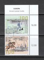Schweiz ** CEPT Historische Postrouten Schweiz Deutschland Italien Neuausgabe 7.5.2020 - Switzerland