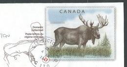 CZ-/-010- CANADA - LETTRE REGIME INTERIEUR - MOUSE - ORIGNAL En ENTIER POSTAL REELLEMENT CIRCULE - DATE = 04/03/2013 - Oblitérés