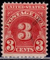 United States, 1931, Postage Due, 3c, Sc#J82, Used - Postage Due