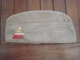 Bonnet Police / Calot US - Infanterie Coloniale - Indo - Indochine. - Helme & Hauben