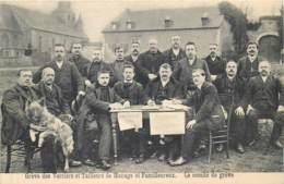Manage - Familleureux - Grève Des Verriers Et Tailleurs  - Le Comité De Grève - Manage