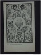 Gebedsprentje Holycard Image Pieuse Gebed Na De Communie Mechelen 1937 Ontwerp Jos Speybrouck - Devotion Images