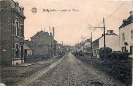 Namur - Belgrade - Arrêt Du Tram Et Le Magasin Bon Marché - Namur