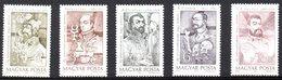 HONGRIE. N°3246-50 De 1989. Pionniers De La Médecine. - Medicine