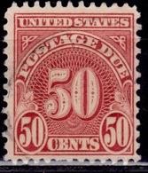 United States, 1931, Postage Due, 50c, Sc#J86, Used - Postage Due