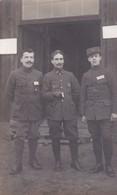 Militaria  Guerre 1918 Carte Photo Prisonniers Au Camp De Mannheim A Mon Camarade Breuzet De Raymond Gabory - War 1914-18