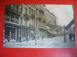 Bruxelles - Papeterie Mercerie St Gilloise Vve H. Smeraldy , 124 Chaussée De Waterloo - Old Professions