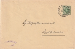 Wuerttemberg / 1910 / Dienst-Ganzsachenumschlag K1 STEINHEIM (BD50) - Wuerttemberg