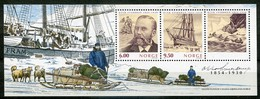 Norway Mi# Block 26 Postfrisch/MNH - Arctic Explorer, Ship - Blocks & Kleinbögen