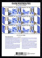 Nederland 2020 Nvph ???, Mi Nr ?? Oude Postroutes, Internationaal, Europa, Paard, Horse, Postkoets, Familie Von Thurn + - Unused Stamps