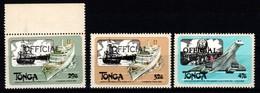 1983 Tonga, Francobolli Di Servizio Nuovi (**) - Tonga (1970-...)