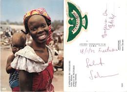Giovane Mamma. Sierra Leone.  Viaggiata 1972 - Sierra Leona