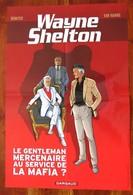 Grand Poster Plastifié Double Face Wayne Shelton Par DENAYER Et VAN HAMME - Sérigraphies & Lithographies