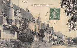 CPA 87 LES GRANDS CHEZEAUX LA PLACE - France