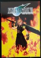 Final Fantasy VII Game Carte Postale - Pubblicitari