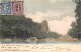 Indonésie - Groet Uit Borneo - Opon Batoe - Indonesia