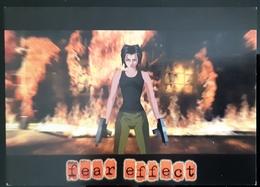 Fear Effect PSP Game Carte Postale - Pubblicitari