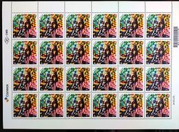 Brazil Stamp C 3801 Selo Centenário Do Nascimento De Nelson Mandela 2018 Folha - Brasilien