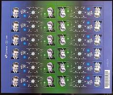Brazil Stamp C 3802 Selo Cientistas Brasileiros Cesar Lattes E Johanna Döbereiner 2018 Folha - Brasilien