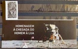 Brazil Stamp C 3831 Selo Chegada Do Homem À Lua 2019 Com Vinheta - Brasilien