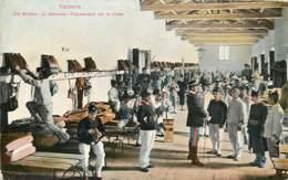 Italia - Fanteria - Vita Militare - In Camerata - Preparandosi Per La Rivista - Series  953 -7 - Militaria