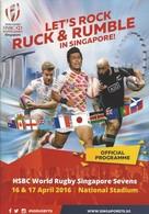 Programme - HSBC Sevens World Circuit - Singapore 2016 - Rugby