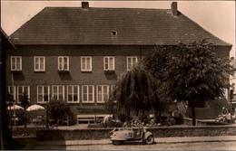 ! DDR Ansichtskarte Malchow In Mecklenburg, Sparkasse, Motorroller - Andere